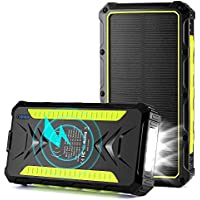 Oimye 36000mAh Wireless Portable Solar Power Bank