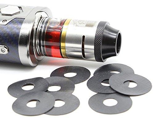 Steamer Mods Akkuträger Kratzschutz 25mm Ringe aus Gummi 10 Stück …