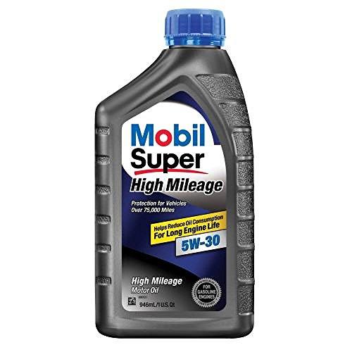 Mobil Super 112906-6PK High Mileage 5W-30 Motor Oil