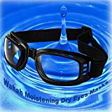 Wahah Multi-Functional Dry Eyes Relief Mask, Eyes Protection Masks, Eye Mask for Dry Eyes,Dry Eye Mask,Night time Dry Eye Mask,Dry Eyes Sleep Mask,Insulating Glass