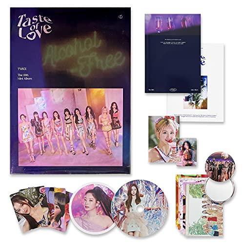 TWICE 10th Mini Album - Taste of Love [ Fallen Ver. ] Photobook + CD-R + Booklet + Lenticular + Tasting Card + Coaster + Photocard