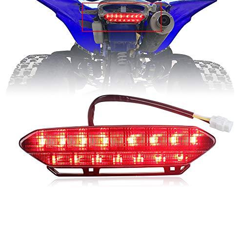 Akmties LED Tail Light Brake Rear Light for ATV 2006-2009 Yamaha YFZ450(Smoked 1pcs)