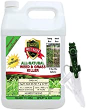 Natural Armor Weed & Grass Killer All-Natural Concentrated Formula. Contains No Glyphosate. 128-Ounce Gallon Pet Safe