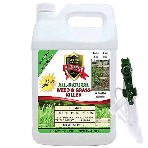 Natural Armor Weed and Grass Killer All-Natural...