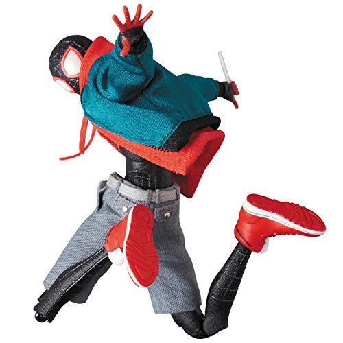 MAFEX SPIDER-MAN (Miles Morales) Spider-Man: Spider Bath Action Figure No.107