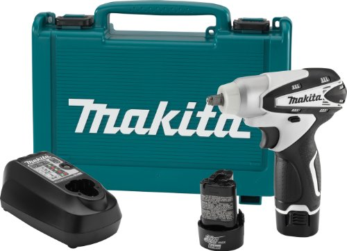 Makita WT01W 12V max Lithium-Ion Cordless 3/8 Inch Impact Wrench Kit
