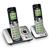 VTech CS6529-2 DECT 6.0 Phone Answering System with Caller ID/Call Waiting, 2 Cordless