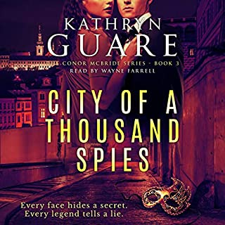 City of a Thousand Spies audiobook cover art