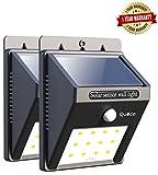Quace Weather Resistant 12 LED Motion Sensor Solar Light (Set Of 2)