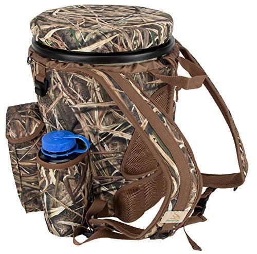 Peregrine Venture Bucket Pack Hunting Bucket Backpack Combo, Mossy Oak Shadowgrass Blades