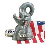 GOP Republican Party Elephant Cast Iron Bottle Opener