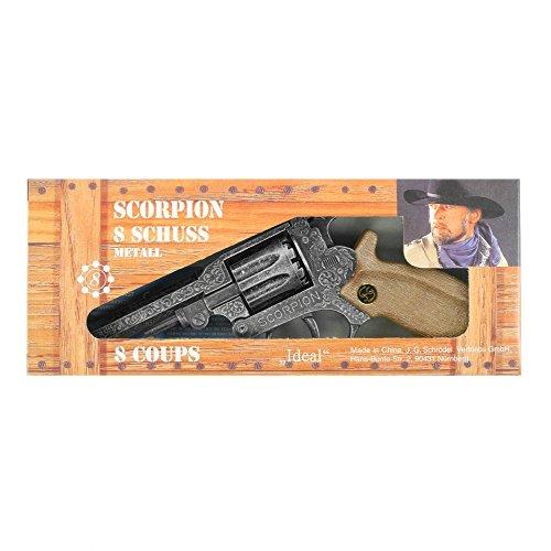 Schrödel - 1068278 - Pistolet - Colt 8 Coups - Scorpion Antique - 22 Cm