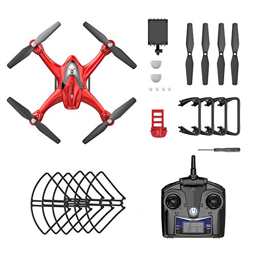 Holy Stone HS200D FPV RC Drone with 720P Camera 120°FOV Live Video WiFi Quadcopter for Beginners...