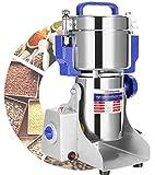 Moongiantgo 1500g Mulino Elettrico per Cereali Maglia 50-300, Acciaio Inossidabile & 3000W 36000RPM Motore Commerciale, per Cereali, Spezie, ecc., con Protezione da Sovraccarico & Open-Cover-Stop