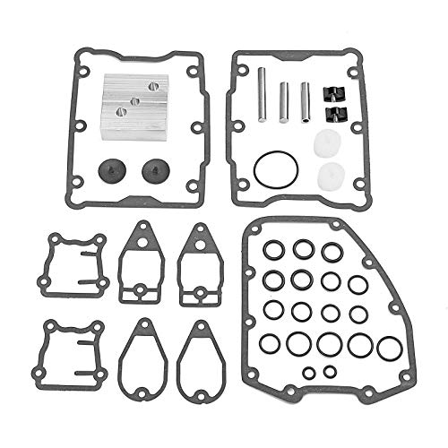 WeiSen Twin Cam Timing Chain Tensioner Shoes Pads+Pins+Tool+Gaskets Compatible with 1999-2005 Harley...