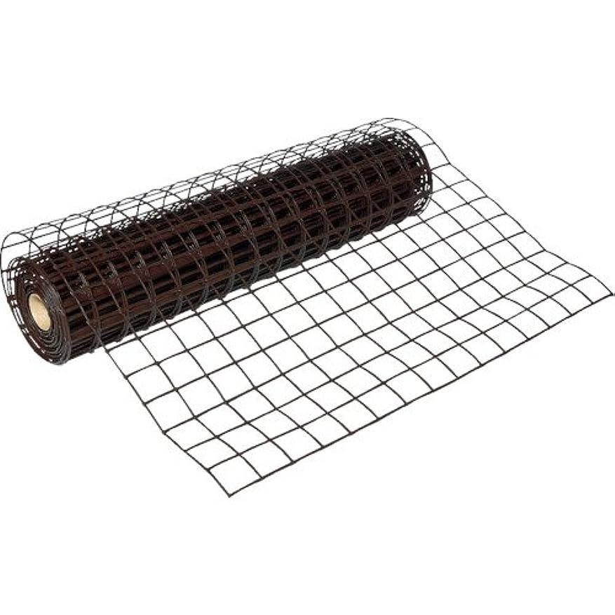 初期の知的従順なトラスコ中山 株 TRUSCO 多目的樹脂ネット ブラウン1mX10m 目合67mmX64mm T-H10PB