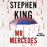 Mr. Mercedes audiobook cover art