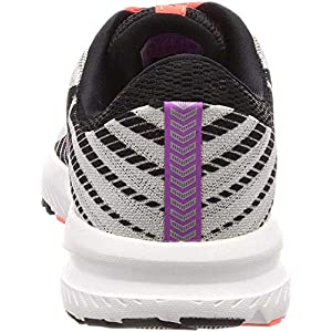 Brooks Women's Launch 6 Grey/Black/Purple 9.5 B US
