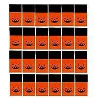 VORCOOL ハロウィンバッグ キャンディーバッグ かぼちゃバッグ ビニール袋 キャンディーバッグ 45-500枚