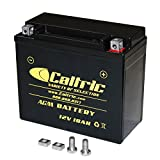 Caltric Ytx20L-Bs Agm Battery Compatible With Harley...
