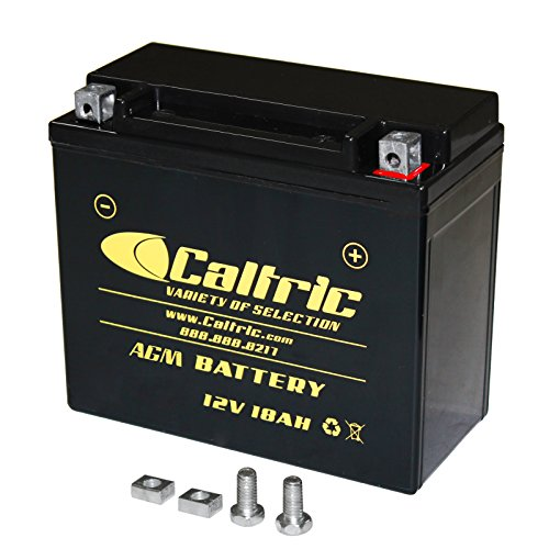 Caltric Agm Battery Compatible With Polaris Ranger Rzr S 800 Efi 2009-2014