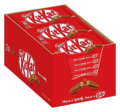 Kit Kat 4-finger chocoladereep melkchocolade - doos met 36 candybars (36x41,5 gram)