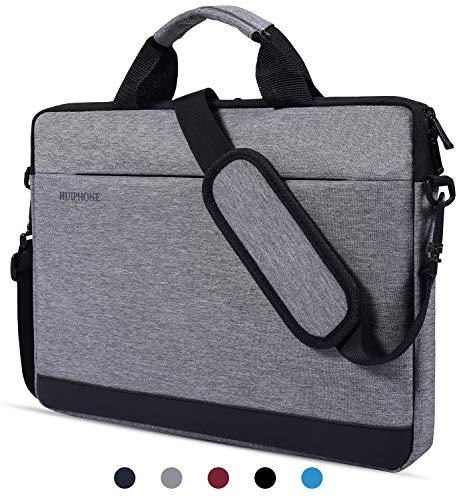 dealcase Laptoptasche für 39,6 cm (15,6 Zoll) Acer Aspire E 15 / Acer Predator Helios 300 / Lenovo ASUS Dell HP 39,6 cm (15,6 Zoll) Laptoptasche Grau grau 13-13.3 Inch