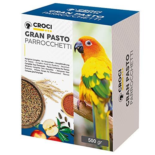 Croci Gran Pasto Perruche pour Oiseau 500 g - Lot de 6