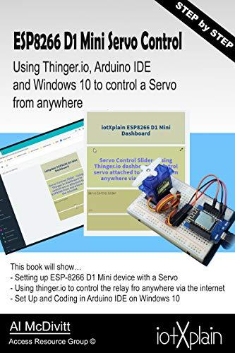 ESP-8266 D1 mini Servo Control from anywhere using Thinger