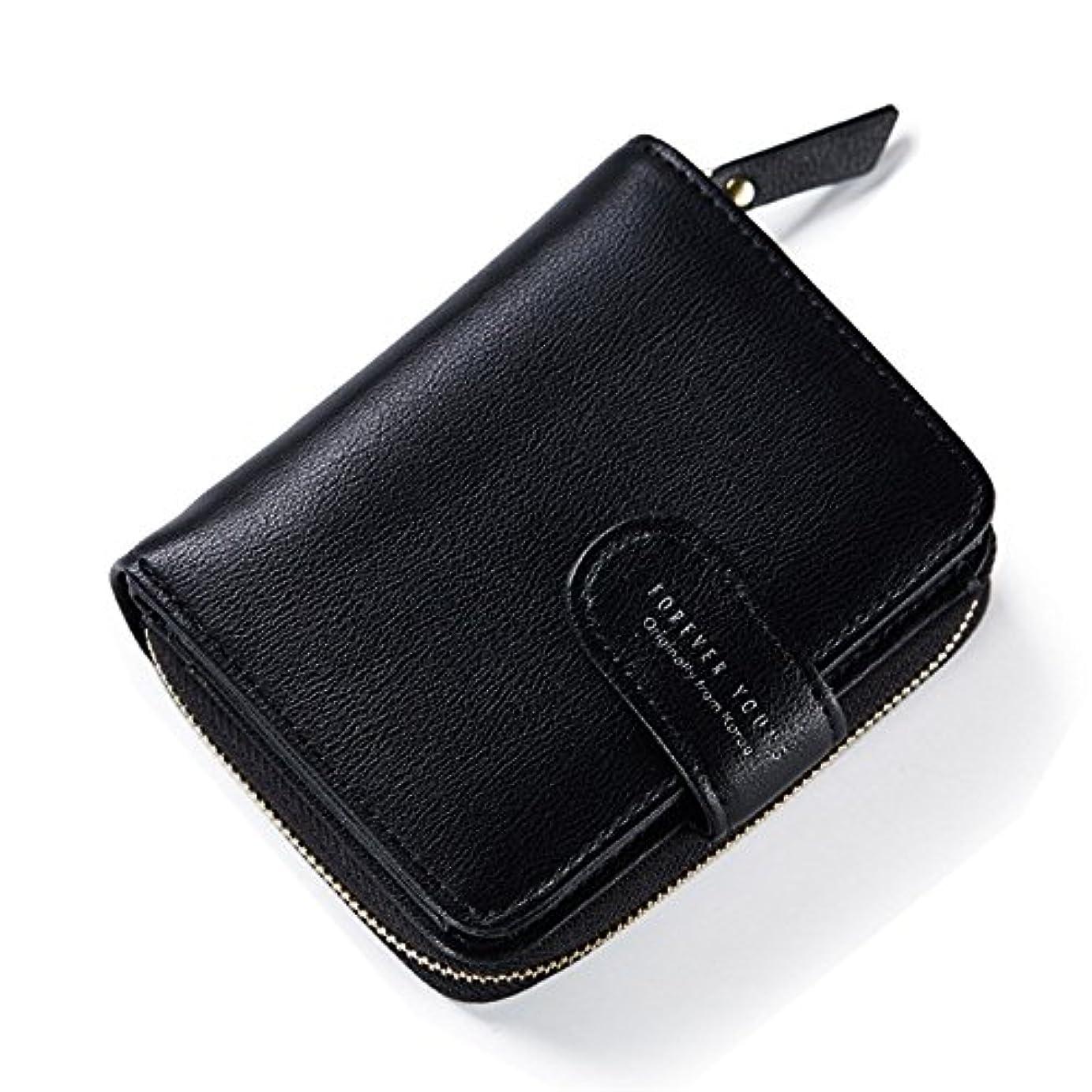 お世話になったどっちでもスケジュール【シャンゼリゼ】選べる4色 レディース財布 二つ折り 小銭出し入れやすい コンパクト 上質素材 ミニウォレット マッドな色合い 手の平サイズ