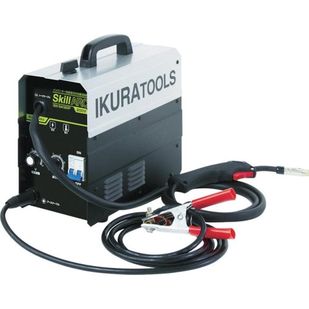 合併症キャスト優れた育良精機(ikura) インバータ半自動溶接機 ISKSA120P