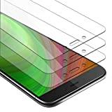 Cadorabo 3X Película Protectora para Xiaomi RedMi Note 4 en Transparencia ELEVADA - Paquete de 3 Vidrio Templado (Tempered) Cristal Antibalas Compatible 3D con Dureza 9H