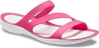 Crocs Swiftwater Sandal W Sandalias con Correa de Tobillo para Mujer