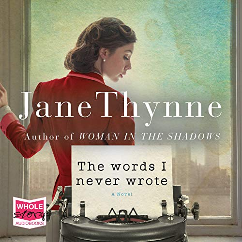 The Words I Never Wrote audiobook cover art