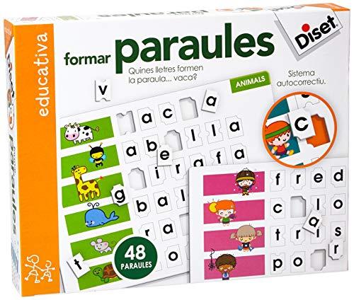Formar Paraules Juego Educativo para Niños, Multicolor (63661)