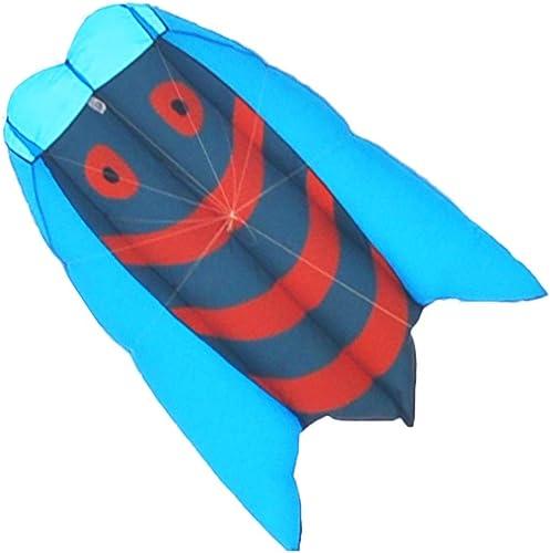 Brise Einfach Zu Fliegen Kite, Kreative Dreidimensionale Erwachsene Kite Outdoor Reise Fliegen Spielzeug Kind Tiermodellierung Drachen, 155  140 CM (Farbe   Blau)