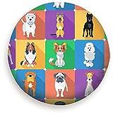Not Applicable Radabdeckung Set Hunde Sitzende Tiere Wildlife Dog Signs Symbole Cover Reserverad