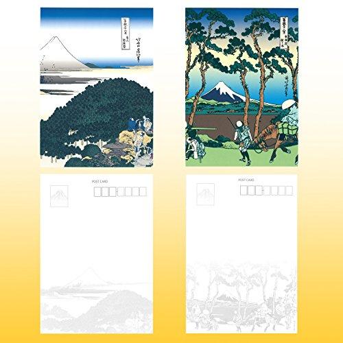『日興美術 ポストカード 富嶽名作選 四季の富士山 10枚セット NRS0015』の4枚目の画像