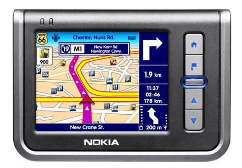 Nokia N 330 PNA NAvigationssystem Route 66 Europa TMC (Achtung. Kartenmaterial 2006)