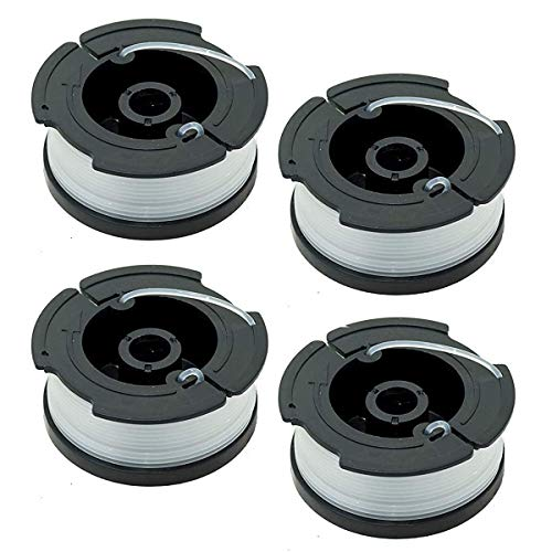 WENTS Hilo Cortabordes Black+Decker A6485-XJ - Pack de 4 bobinas de Hilo Reflex Simple para cortabordes10m x 1.5mm para los cortabordes de alimentación Reflex Simple de 1 Hilo