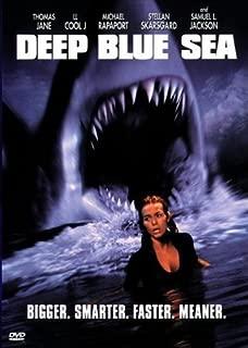 Pop Culture Graphics Deep Blue Sea Poster B 27x40 Saffron Burrows Samuel L. Jackson Thomas Jane