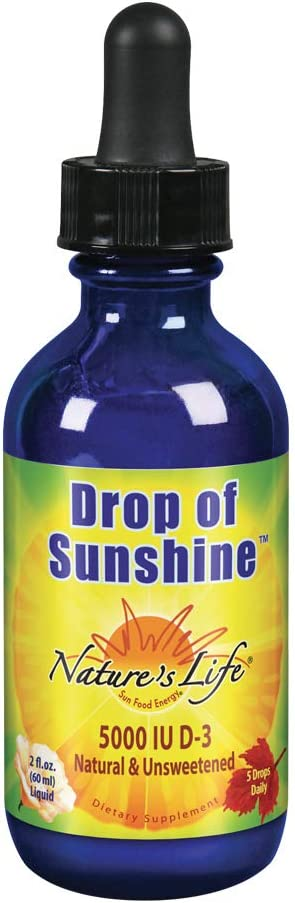 Nature's Max 81% OFF Life Drop of Sunshine Vitamin Extr Louisville-Jefferson County Mall in D-3 Organic Drops
