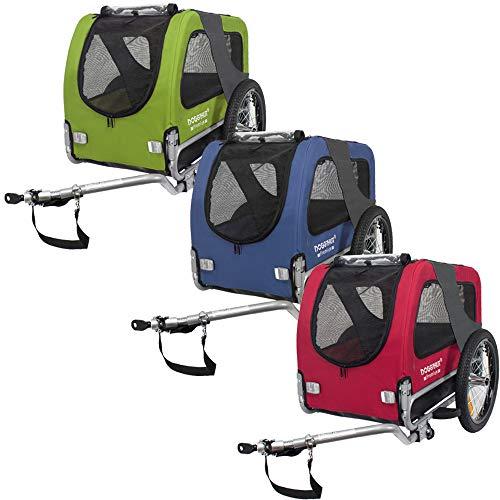 TIGGO DOGGYHUT® MEDIUM Hundefahrradanhänger Hundeanhänger Fahrradanhänger 80101 (BLAU)