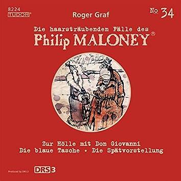 Die haarsträubenden Fälle des Philip Maloney, Vol. 34