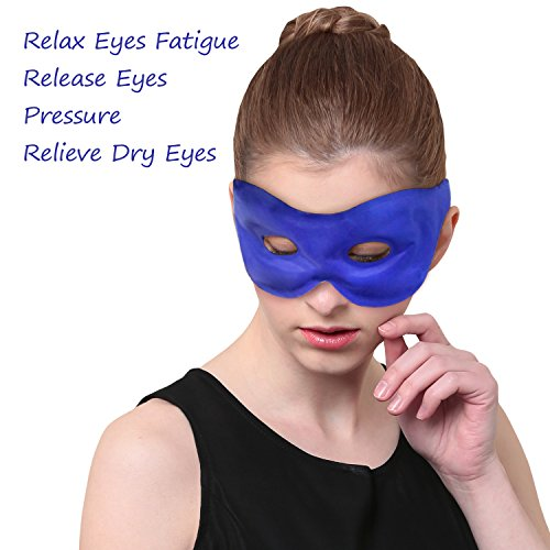 Ice Packs for Eye Mask, Premium Cold Pack for Migraine, Cooling Eye Mask Reusable Cold/Hot Therapy for Puffy Eyes, Dry Eye, Dark Circle