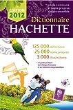 Dictionnaire Hachette 2012 - France