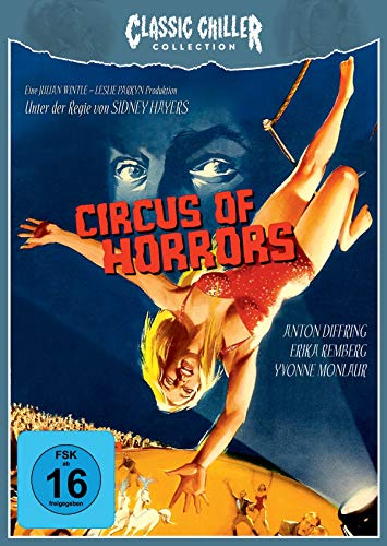 CIRCUS OF HORRORS - CLASSIC CHILLER COLLECTION # 10 - LIMITED EDITION (+ CD) [Blu-ray]