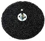 5 dischi di pulizia grossolana, Ø 150 x 10 x 13 mm, disco di pulizia incluso mandrino Cle...
