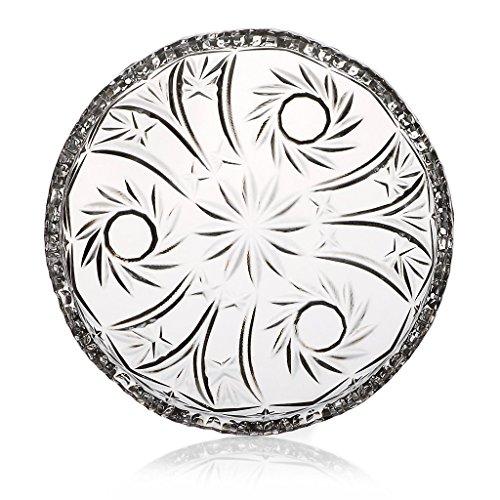 Teller Kuchenteller Tortenteller Carola Transparent D 16 cm Kristall