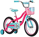 Schwinn Elm Girls Bike for Toddlers and Kids, 16-Inch Wheels, Pink